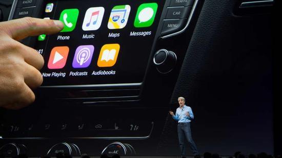 苹果在CarPlay上的巨大成功为其汽车雄心铺平了道路